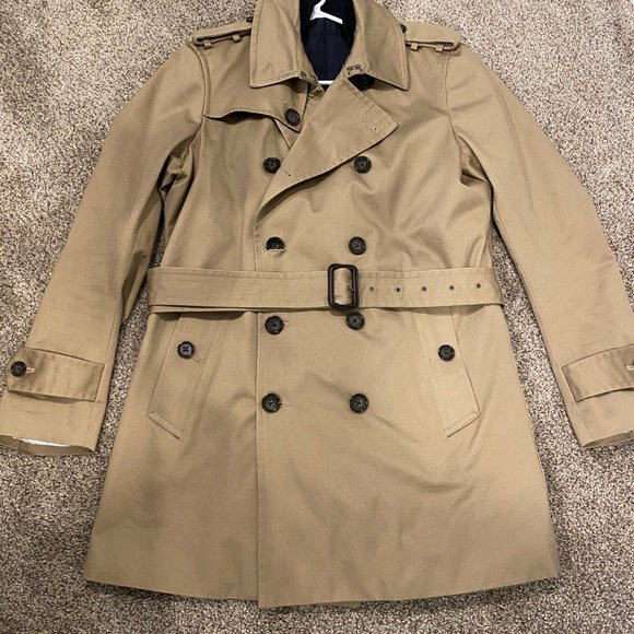 Banana Republic Other - Banana Republic Water Resistant Trench Coat -Camel